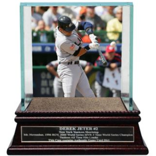 Steiner Sports New York Yankees Derek Jeter Moments World Baseball Classic Team USA Baseball Case with Authentic Field Dirt