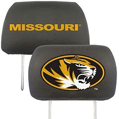 Missouri Tigers 2 pc Head Rest Covers