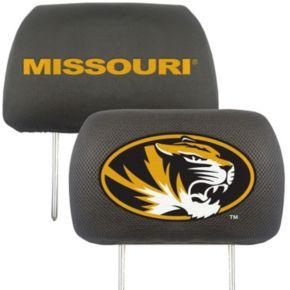 Missouri Tigers 2-pc. Head Rest Covers
