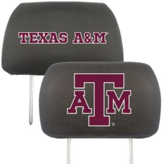 Texas A&M Aggies 2-pc. Head Rest Covers