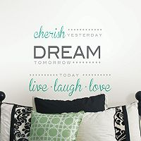 WallPops Cherish Dream Live Wall Decal