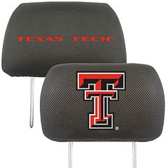 Texas Tech Red Raiders 2 pc Head Rest Covers