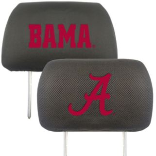 Alabama Crimson Tide 2-pc. Head Rest Covers