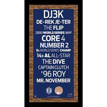 Steiner Sports New York Yankees Derek Jeter 19