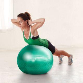 Gaiam 65cm Textured Balance Ball Kit