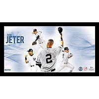 Steiner Sports New York Yankees Derek Jeter Career Highlight 10'' x 20'' Collage