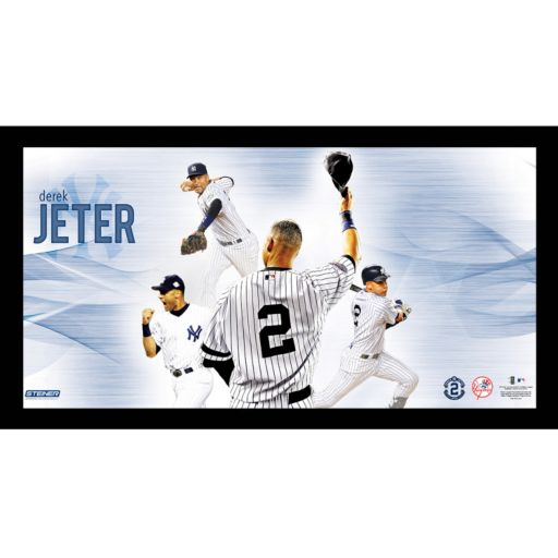 Steiner Sports New York Yankees Derek Jeter Career Highlight 10'' x 20'' Collage