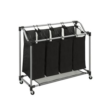 Honey-Can-Do Steel Elite Quad Laundry Sorter