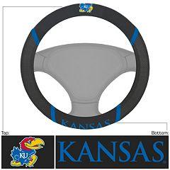 Kansas Jayhawks Steering Wheel Cover