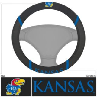Kansas Jayhawks Steering Wheel Cover
