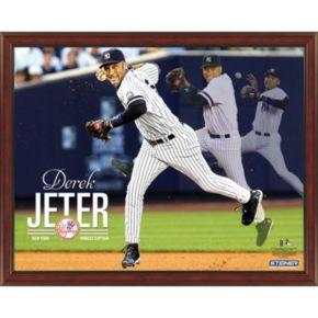 Steiner Sports New York Yankees Derek Jeter Multi-Exposure Four-Photo 10'' x 20'' Panoramic Collage