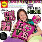 ALEX Giant Knot & Stitch Pillow