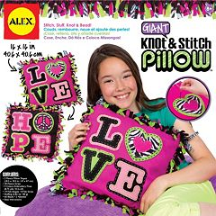 ALEX Giant Knot & Stitch Pillow
