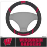 Wisconsin Badgers Steering Wheel Cover