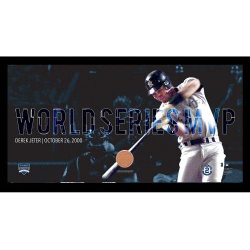 Steiner Sports New York Yankees Derek Jeter Moments 2000 World Series MVP Framed 10
