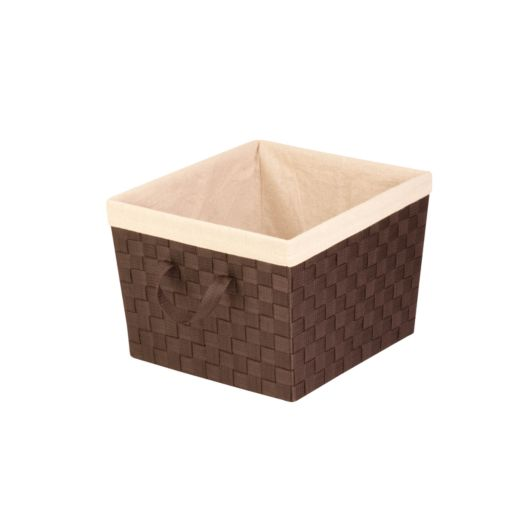 Honey-Can-Do Task-It Woven Storage Tote