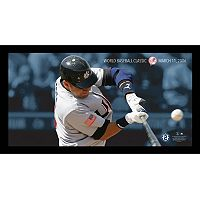 Steiner Sports New York Yankees Derek Jeter Moments World Baseball Classic Team USA Framed 10
