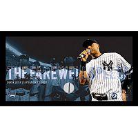 Steiner Sports New York Yankees Derek Jeter Moments Farewell Speech Framed 10