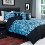 Portsmouth Home Victoria Damask 7 pc Comforter Set