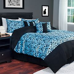 Portsmouth Home Victoria Damask 7-pc. Comforter Set