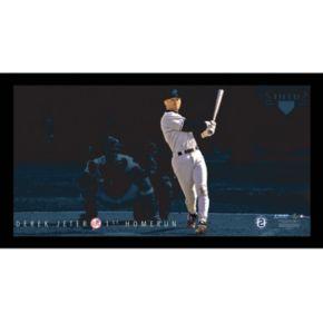 "Steiner Sports New York Yankees Derek Jeter Moments First Career Home Run Framed 10"" x 20"" Photo"