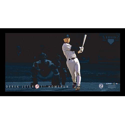 Steiner Sports New York Yankees Derek Jeter Moments First Career Home Run Framed 10 x 20 Photo