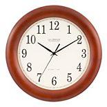 "La Crosse Technology 12.5"" Atomic Analog Clock"