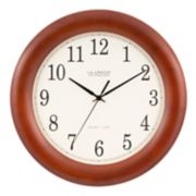 "La Crosse Technology 12.5"" Atomic Analog Clock"