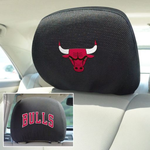 Chicago Bulls 2-pc. Head Rest Covers