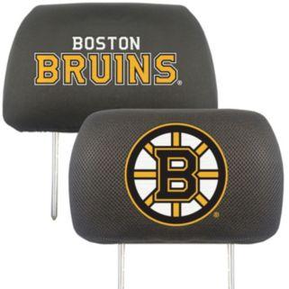 Boston Bruins 2-pc. Head Rest Covers
