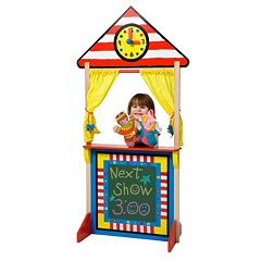 ALEX Toys Floor Standing Puppet Theater & Clock