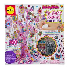 ALEX Shrinky Dinks Fantasy Forest Jewelry Making Kit