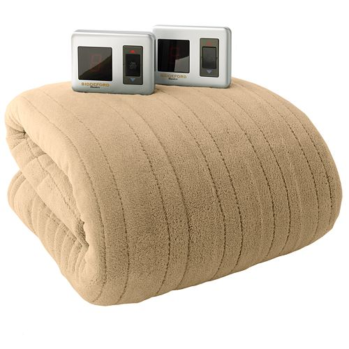 The Kohl S Black Friday Biddeford Plush Heated Electric Blanket