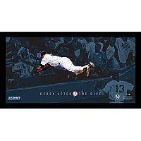Steiner Sports New York Yankees Derek Jeter Moments The Dive Framed 10