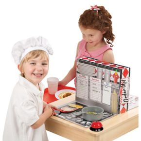 Melissa and Doug Order Up! Diner Playset