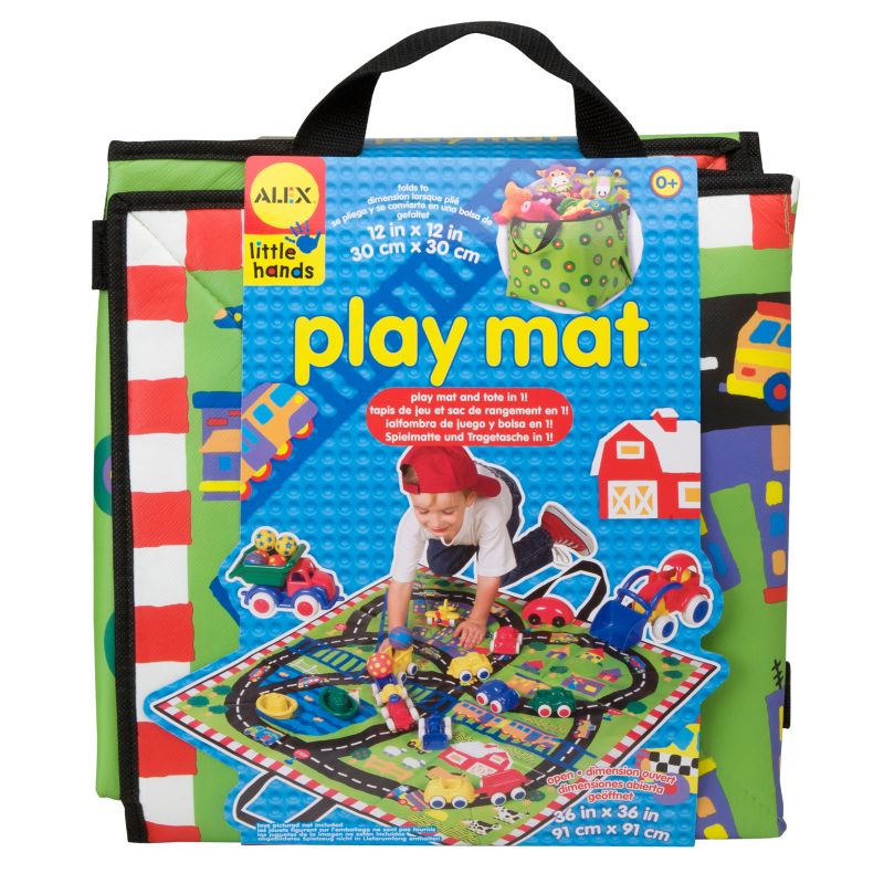 Alex Early Learning Playmat, Multicolor