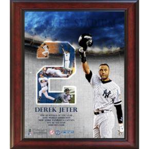 Steiner Sports New York Yankees Derek Jeter Career Highlight 11'' x 14'' Framed Collage
