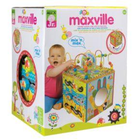 ALEX Jr. Maxville Wooden Activity Cube