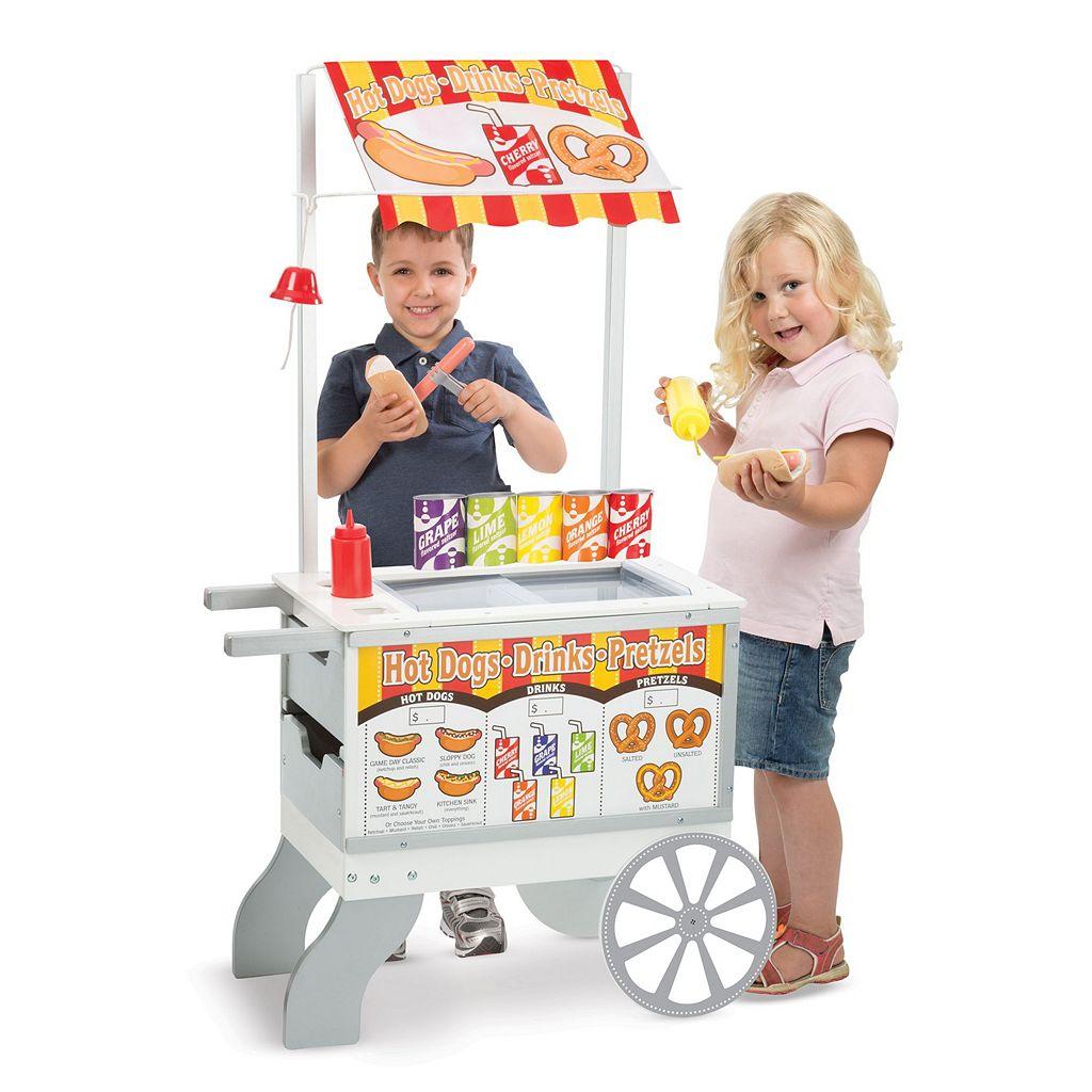 Melissa and Doug Snacks and Sweets Food Cart