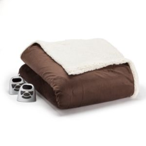 Biddeford Micromink & Sherpa Electric Blanket