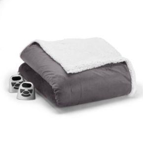 Biddeford Micromink & Sherpa Electric Blanket