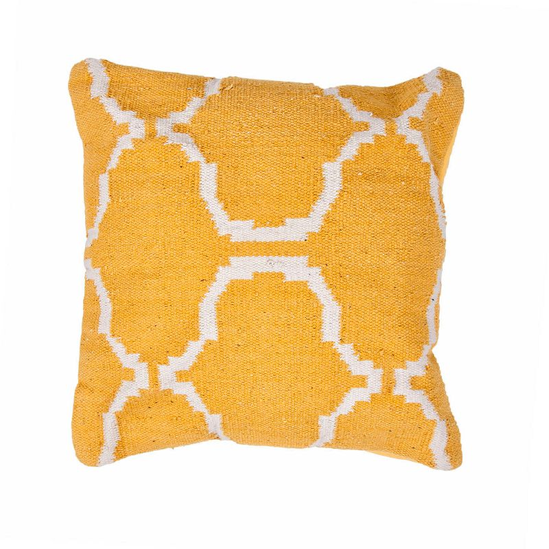 Kohls Yellow Throw Pillow : Cotton Trellis Bedding Kohl s