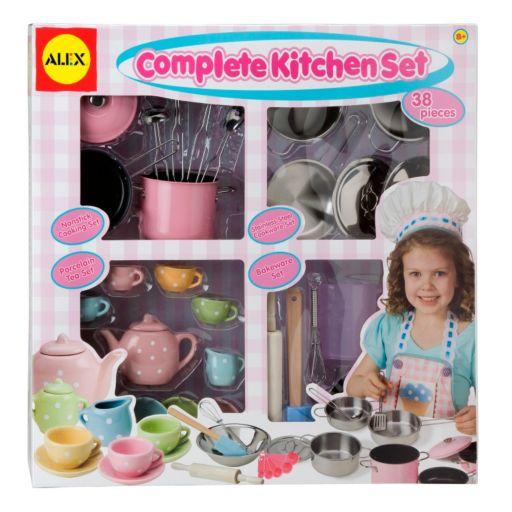 ALEX 38-pc. Complete Kitchen Set