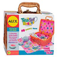 ALEX 19 pc Tea Set Basket