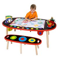 ALEX Artist Studio Super Art Table & Paper Roll