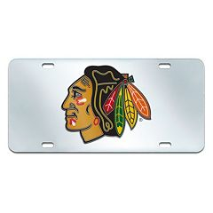 Chicago Blackhawks Mirror-Style License Plate