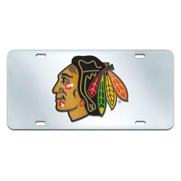 Chicago Blackhawks Mirror-Style License Plate