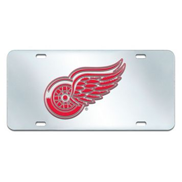 Detroit Red Wings Mirror-Style License Plate