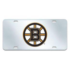 Boston Bruins Mirror-Style License Plate