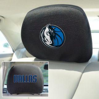 Dallas Mavericks 2-pc. Head Rest Covers